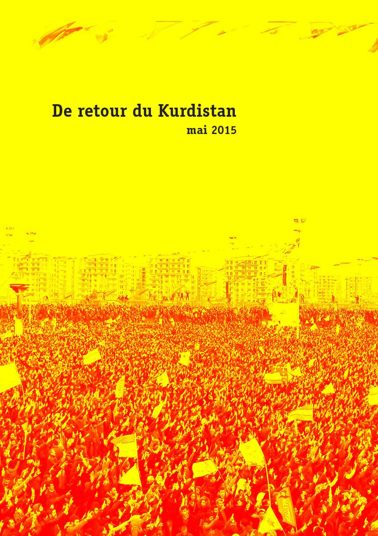 [Brochure] De retour du Kurdistan – mai 2015