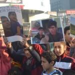 Les enfants manifestent  à Istanbul contre la guerre