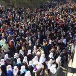Manifestation à Amed pour Sur (au 88ème jour de siège)