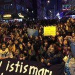 [Istanbul] Manifestation des femmes contre le viol