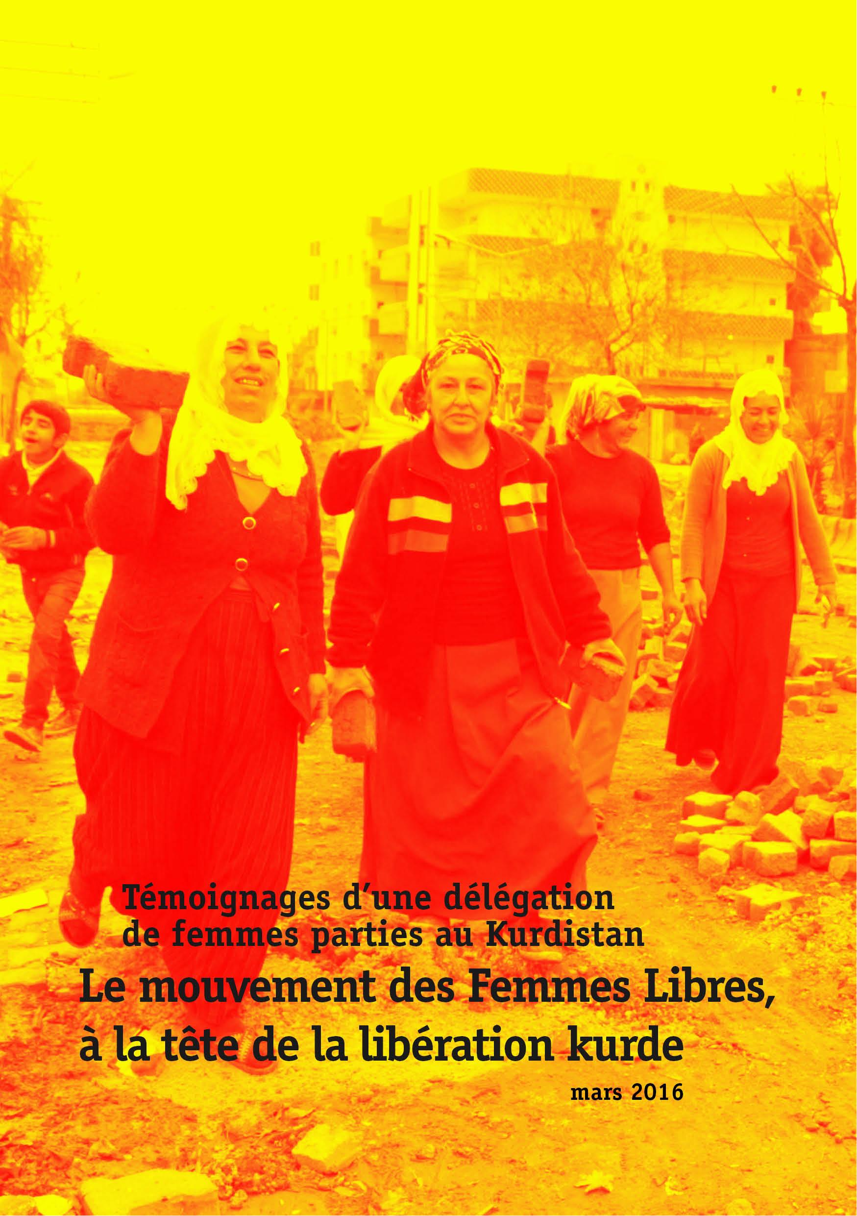 [Brochure] Le mouvement des Femmes Libres, à la tête de la libération kurde